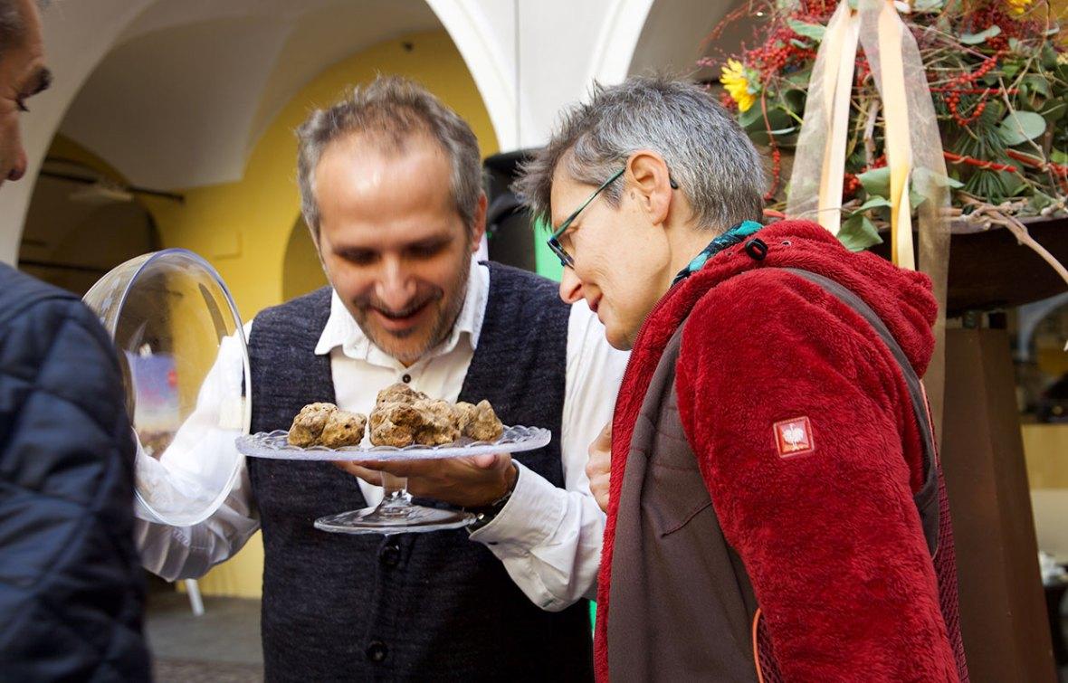 Dr. Gabriele Sauseng – Trüffelmarkt Graz
