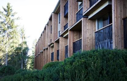 Hotel My Arbor Brixen - Backside