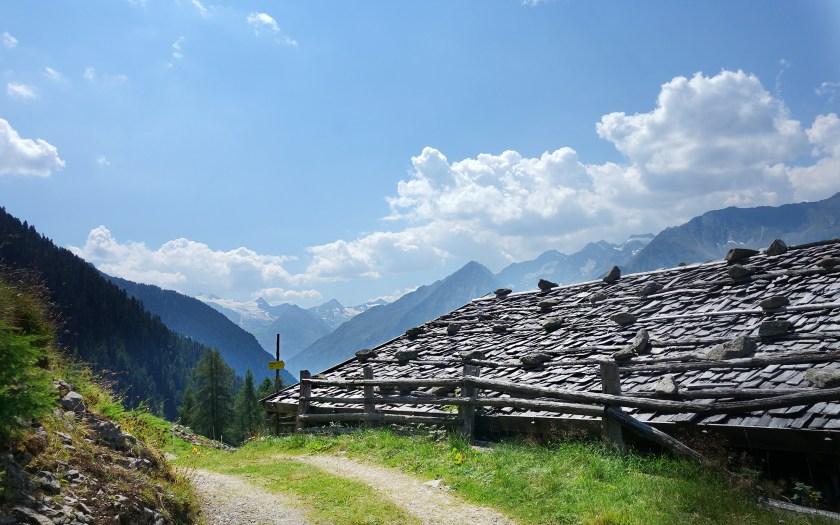 Wanderweg zur Klamperbergalm - Stubai