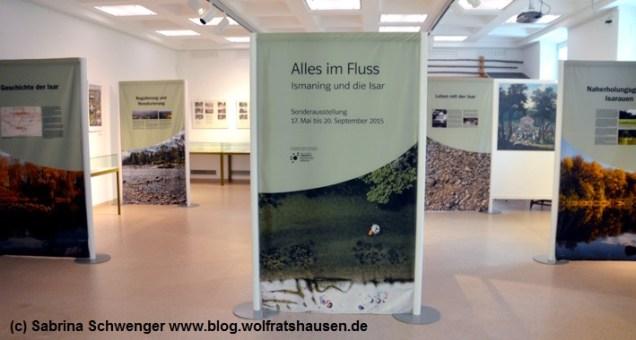 Eine ausführliche Ausstellung zur Isar – zu der natürlich auch die Flößerei gehört – gibt es im Schlossmuseum Ismaning.