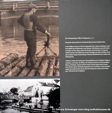 Ebenfalls zur Flößerei auf der Amper informiert das Bauernhofmuseum Jexhof.