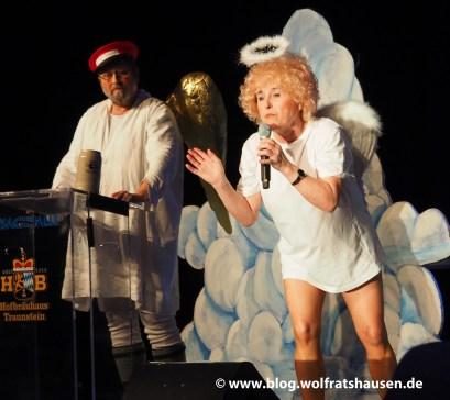 Eveline Hörschelmann als Engel