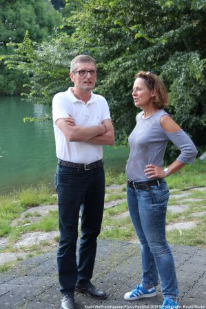 Fluss Festival 2019 Amy und Willy Warning 001