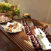 Osterfrühstück in Malgarten