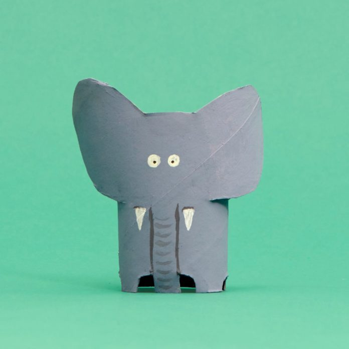 elephant toilet paper