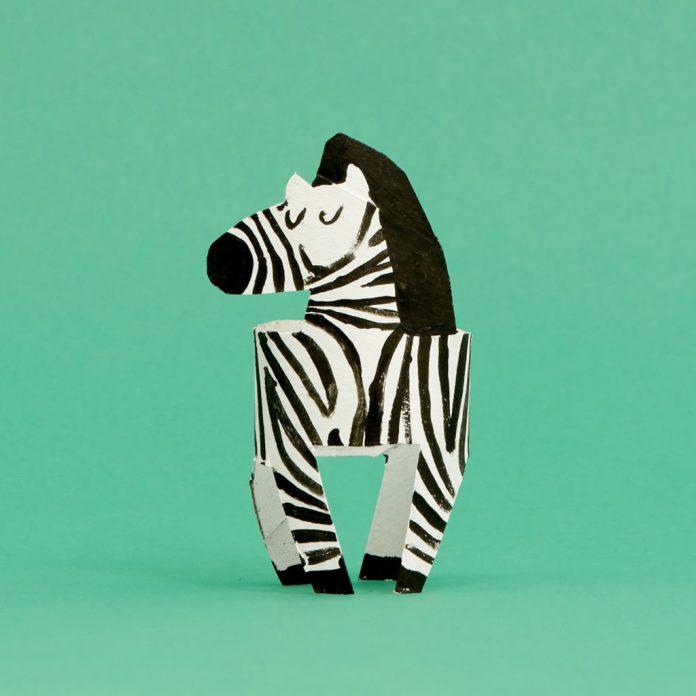 zebra toilet paper