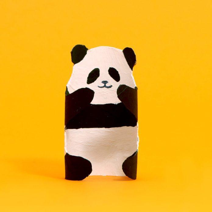 panda toilet paper