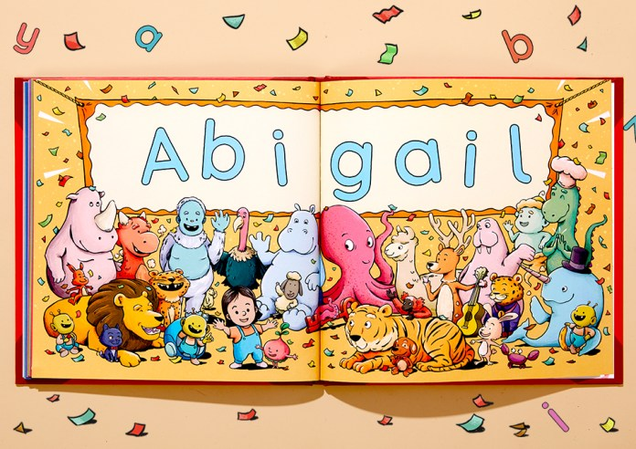 personalised abc book