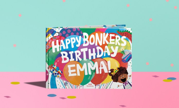 bonkers birthday to you book