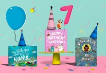 birthday book header