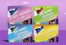 Supermom book Blog header