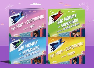 Supermom book Blog header