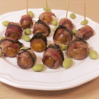 5 bacon chestnuts