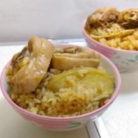 麻油雞飯1