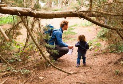 Learning in nature in Sapling Forest Preschool