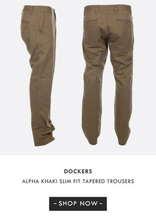 Dockers Alpha Skinny Slim Fit Tapered Trousers