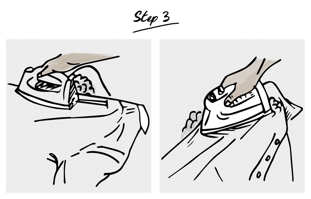 How-to-iron-a-shirt-step-3