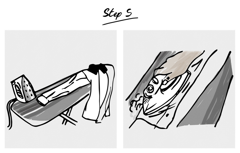 How-to-iron-a-shirt-step-5