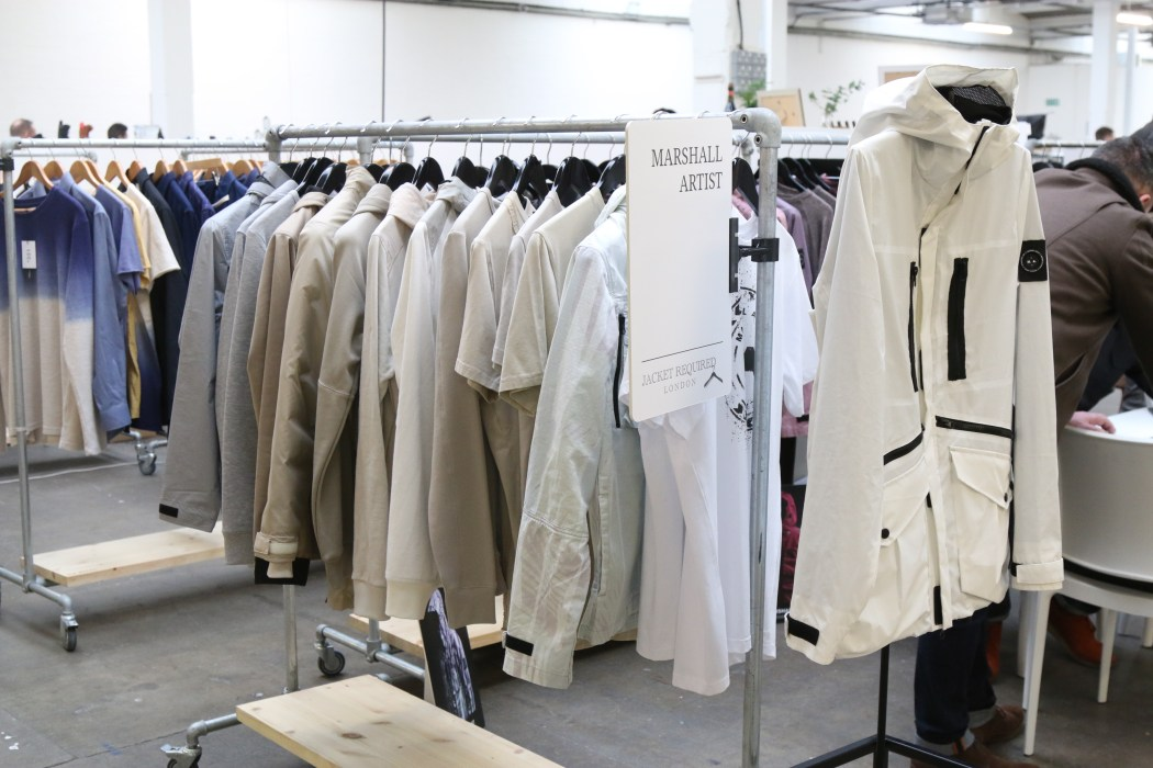 Jacket Required - Marshall Artist AW17 menswear trade show