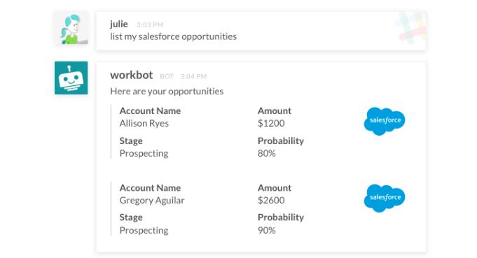 salesforce bot list leads