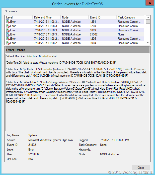 Expanding VHD or VDHX Files That Have Checkpoints Is Considered