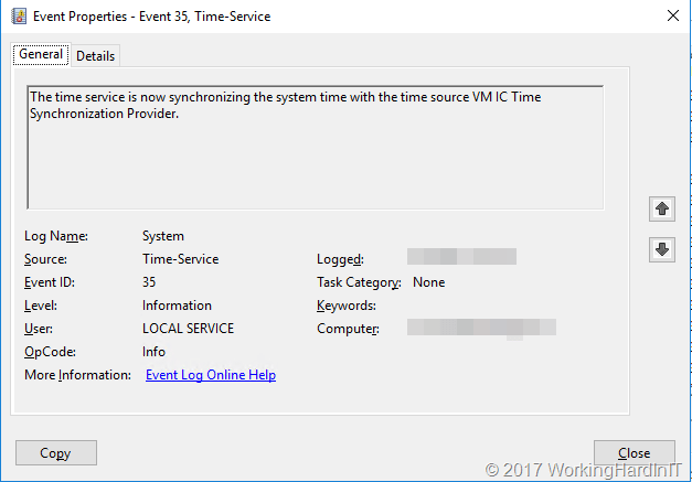 Unable to correctly configure Time Service on non PDC Domain