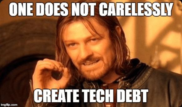 How tech debt happens
