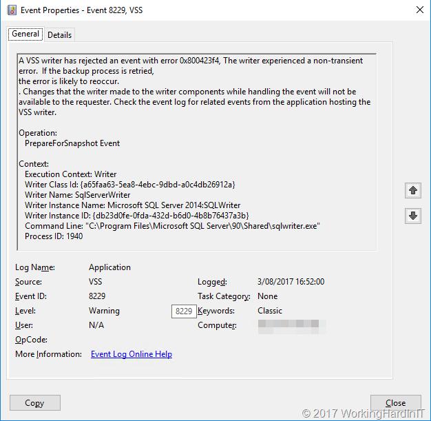 Troubleshooting Veeam B&R Error code: '32768'  Failed to create VM
