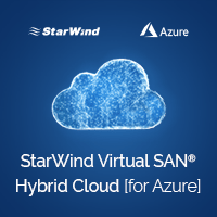 StarWind Virtual SAN Hybrid Cloud for Azure