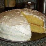 Fresh Orange Birthday Cake from The Cake Mix Doctor Returns!