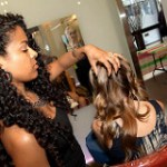 Curly Girl makeovers at Devachan salon