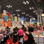 The Workman Wall of Books at #BEA13!