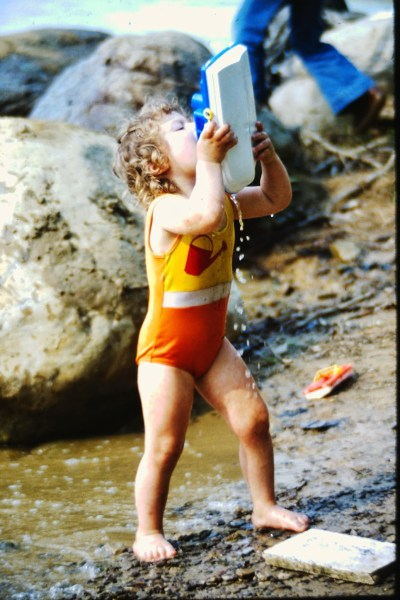 Carefree at Berlin Lake, circa 1979