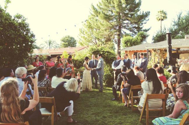 THE WEDDING BOOK's DIY Backyard Wedding - Workman Publishing
