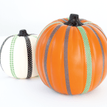 Costumed Pumpkins from WASHI TAPE CRAFTS