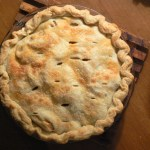 NEW ENGLAND OPEN-HOUSE COOKBOOK: Jennifer's Cranberry Date Pie
