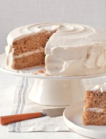 Parsnip-Ginger Layer Cake