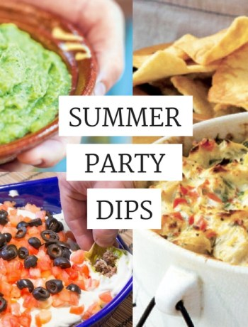 summer party dips