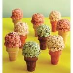 Crispy Rice Ice Cream Cones