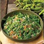 Farro Salad with Edamame and Arugula