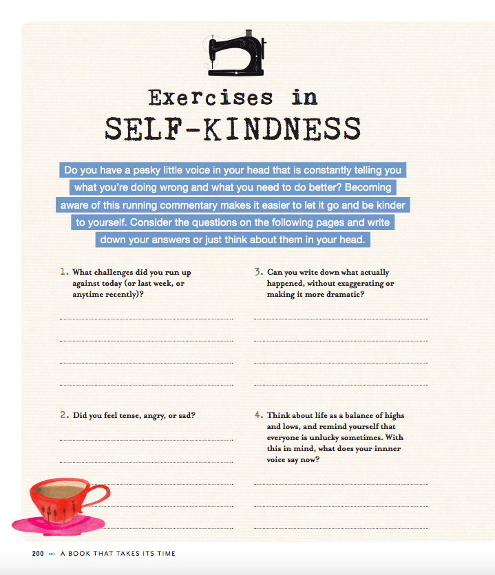Exercises in self kindness flow magazines a book that takes its time solutioingenieria Gallery