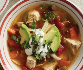 Chipotle-Tortilla Chicken Soup