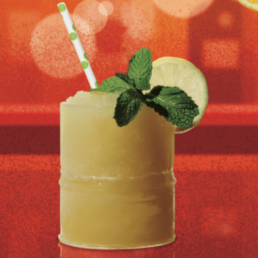 Whiskey Smashed Frozen Cocktail