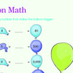 Balloon Math Brain Quest For Fifth Grade