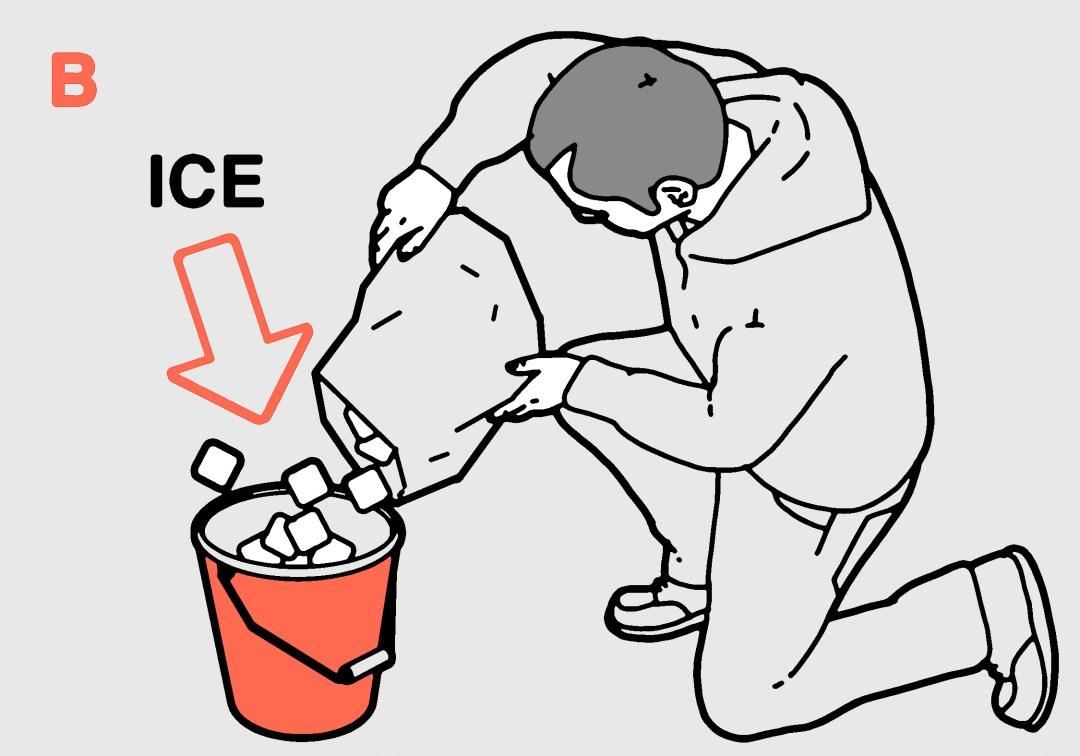 Beer Hacks ice in bucket