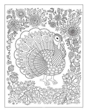 Color Your Year Thanksgiving