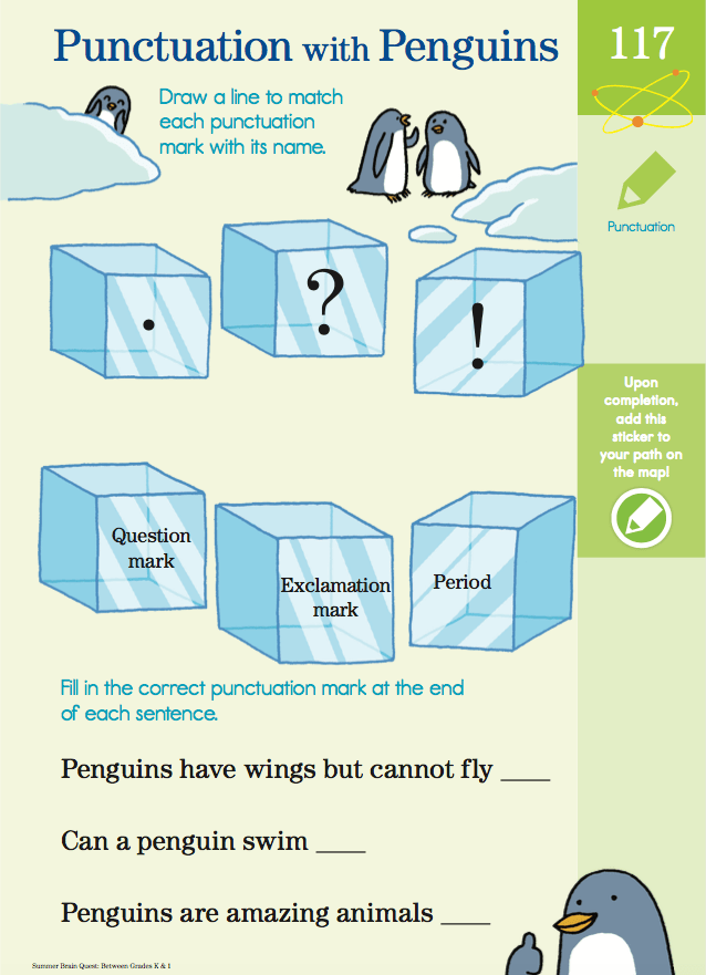 Punctuation with Penguins! Bra...