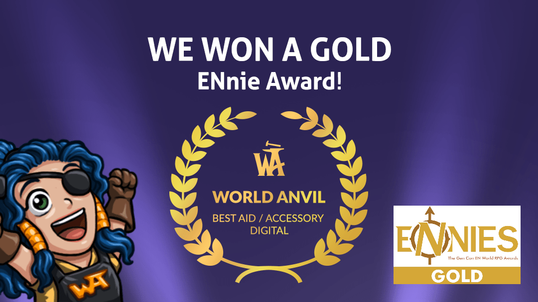 We Won a Golden ENnie for Best Digital Aid/Accessory