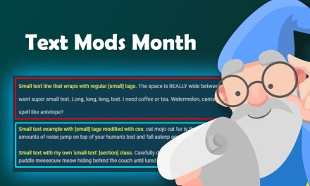 CSS: Fixing [small]'s line height (Text Mods Month)