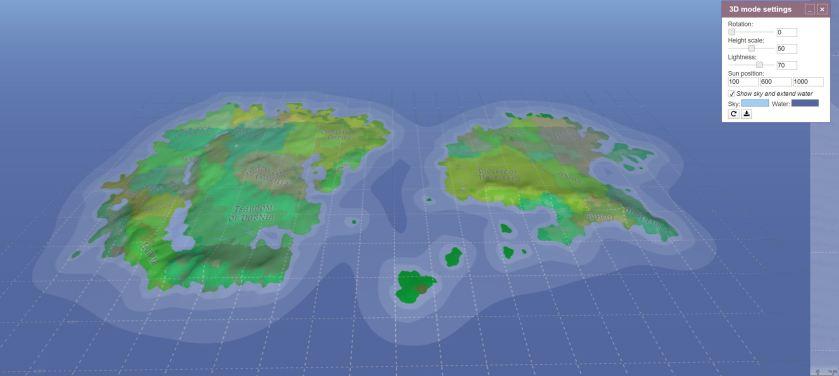 map generation software Azgaar 3D